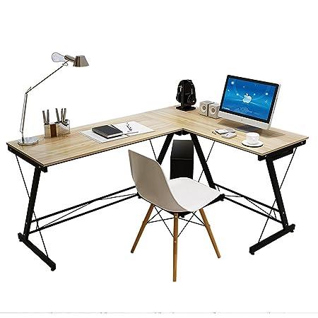 Soges Mesa ordenador Gran mesa de esquina Moderna Escritorio para ...