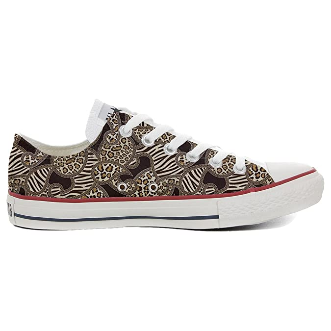 Converse Custom Slim personalisierte Schuhe (Handwerk Produkt) Jungle  39 EU