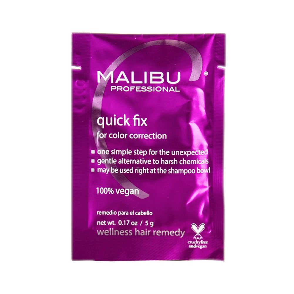 Amazon Malibu C Quick Fix For Color Correction 1 Packet Spa