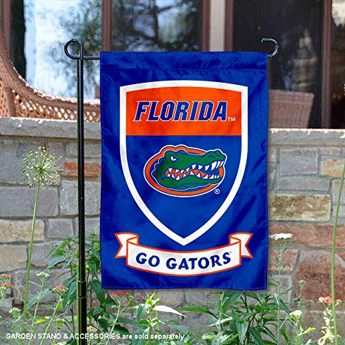 Florida Gators Crest Shield Garden Flag and -