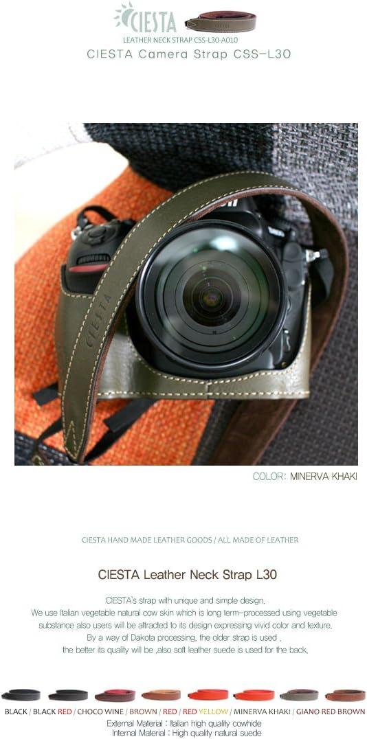 Ciesta css-l30-a10 piel correa L30 para cámara DSLR compacta ...
