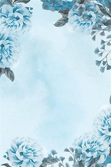 Amazoncom Lfeey 5x7ft Watercolor Flowers Backdrop