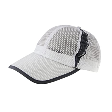 09582ef54f4e9 Unisex Adults Summer Quick Dry Breathable Mesh Baseball Cap Long Brim  Adjustable Snapback Trucker Outdoor Sports