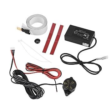 Zerone - Kit de Marcha Atrás de Seguridad para Aparcamiento electromagnético, Sistema de Sensor de Radar de Marcha Atrás
