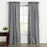 Best BrylaneHome Home Curtain Panels - BrylaneHome Buffalo Plaid Curtain Review