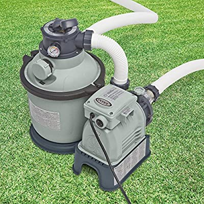 Intex Sand Filter Pump w/GFCI (110-120 Volt)