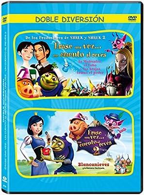 Pack Erase Una Vez Un Cuento Al Reves 1 + 2 [DVD]: Amazon.es: Animación, Yvette Kaplan, Paul J. Bolger, Animación, Volker Baas, John H. Williams: Cine y Series TV