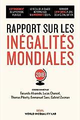 Rapport sur les inégalités mondiales - 2018 (Sciences humaines (H.C.)) (French Edition) Paperback