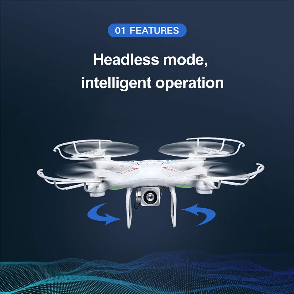 Aland-Aerial Wide Angle Quadcopter Remote Control Mini Camera Aircraft Children Toy - Green 1 by Aland (Image #5)