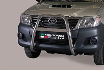 63MM Nudge Bar EC Approved Stainless Steel Front A-Bar Bull Bar MISUTONIDA CADDY 2015 ON