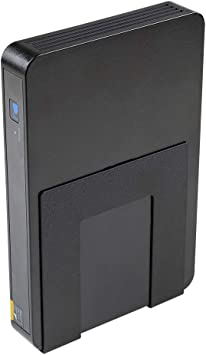 Cable Box Black HIDEit Uni-S Adjustable Small Device Wall Mount Digital Medi