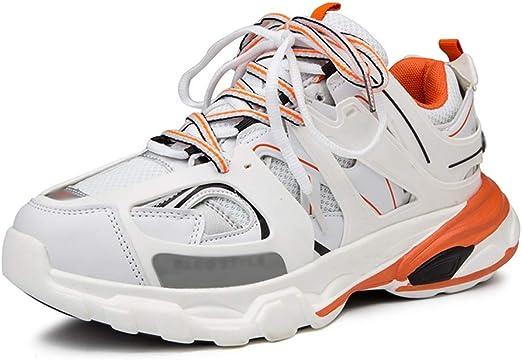 Zapatillas deportivas hombre Zapatos deportivos de moda for hombre Zapatos for correr transpirables Deportes deportivos Caminar Tenis Zapatos casuales Zapatos casuales aumentados zapatillas running ho: Amazon.es: Hogar