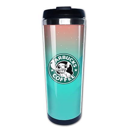 Termo para café LiZizz con el logotipo de Starbucks, de acero inoxidable