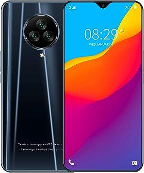 Teléfono Móvil Libres, NE3 Android 10 Smartphone Libre, 4G Smartphone Dual SIM, Pantalla 6,55 Pulgadas, 4800mAh Batería, Triple Cámara 13MP 5MP, 16GB ROM, 128GB SD, Face ID,Black: Amazon.es: Electrónica