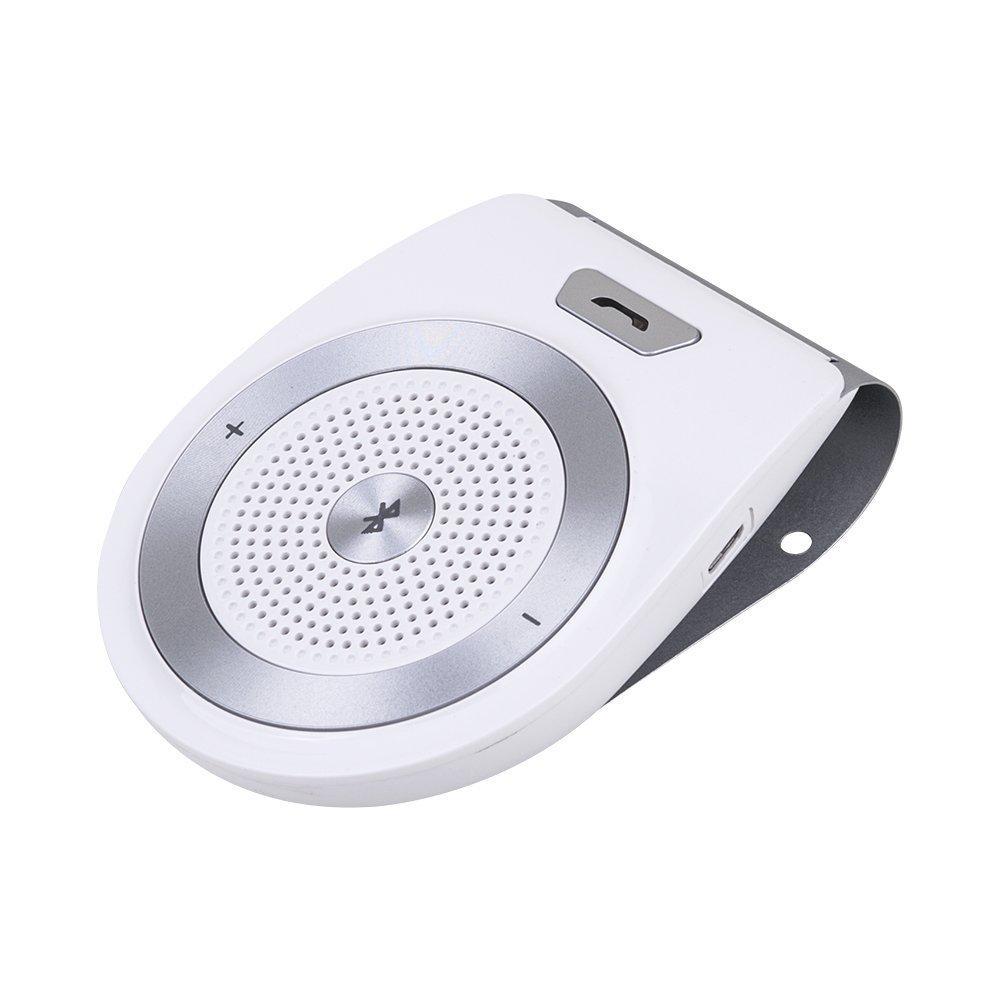 Wireless Bluetooth Car Kit 4.1 Altavoz Para Automó viles De Coches de Sun Visor Manos Libres Simultá neo Para Soporte De 2 Telé fonos Smartphone For iPhone8/7 / 6 / 6s má s / Samsung KANGLONGJIA