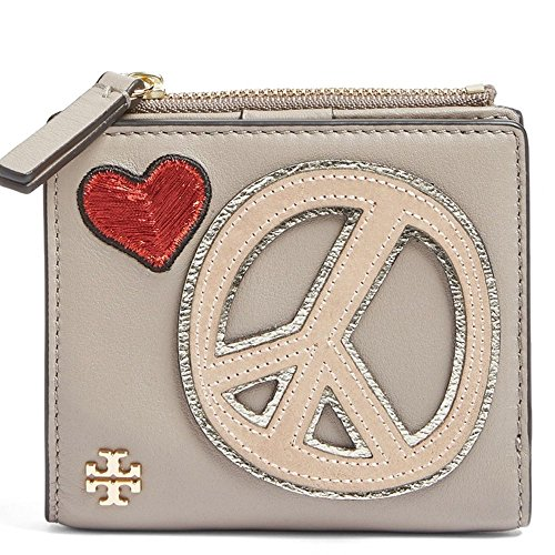 Tory Burch Wallet Coin Case Card Case Peace Embellished Mini by Tory Burch