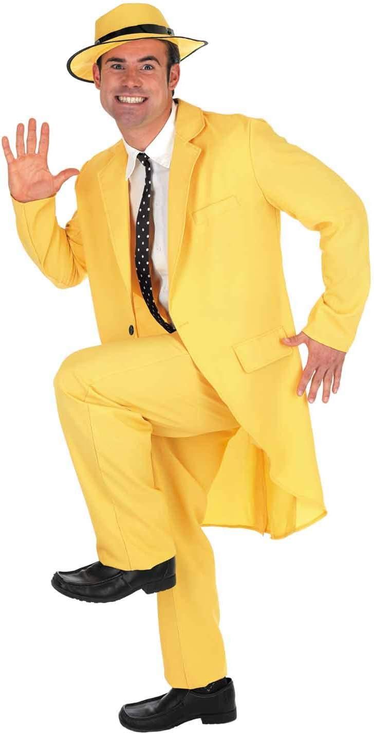 Fun Shack Amarillo Traje Amarillo Disfraz para Hombres - M