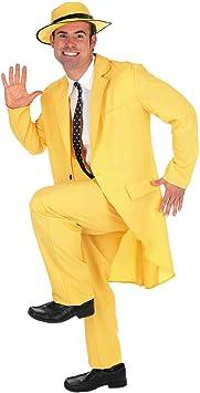 Fun Shack Amarillo Traje Amarillo Disfraz para Hombres - M ...