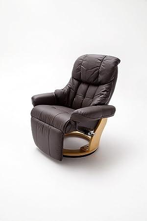 Dreams4Home sillones de piel Laura salón sillón relajante ...