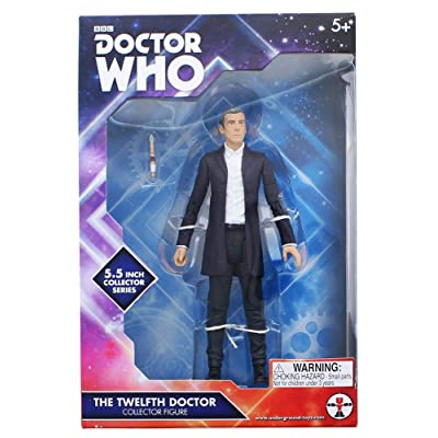 Doctor Who 12th Doctor in White Shirt 5-inch Action Figure: Toys & Games