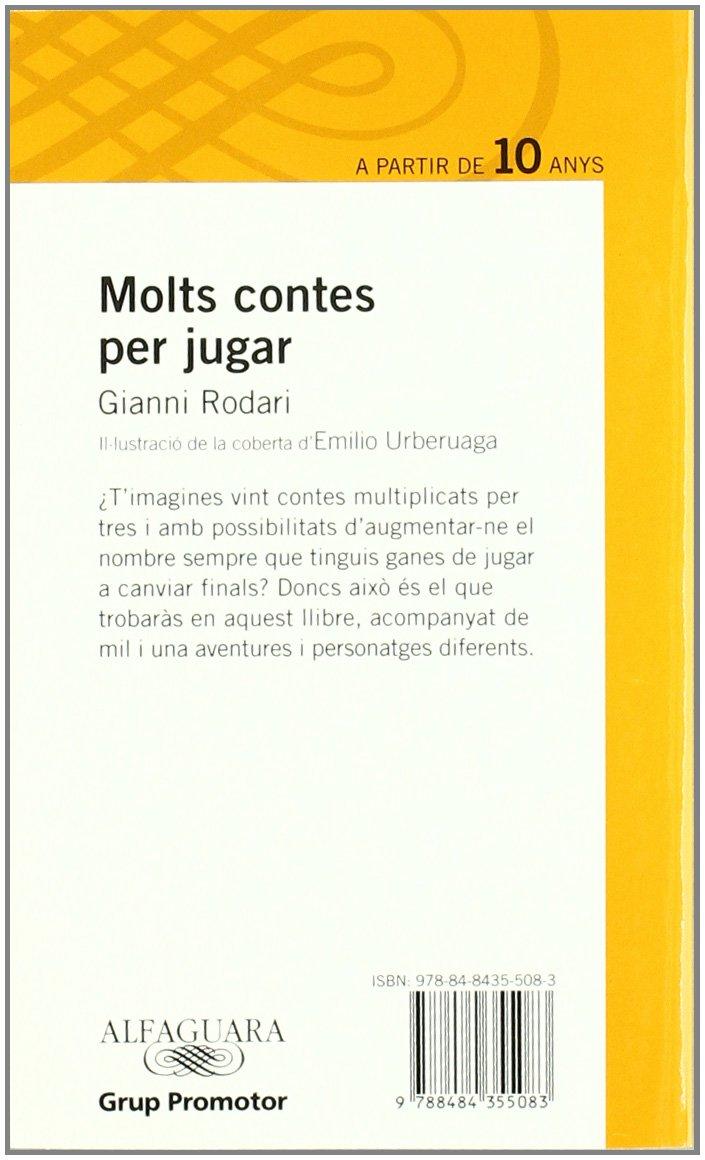 Molts Contes Per Jugar - Grp. Promotor: Amazon.es: Rodari, Gianni: Libros