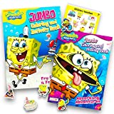 Spongebob SquarePants Coloring and Activity Book Set with Stickers (2 Books)