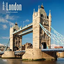 London 2016 Square 12x12 Wall Calendar by BrownTrout (July 15,2015)