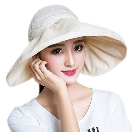 9dd133bf779 Amazon.com   ITODA Summer Sun Hat UPF 50+ Foldable Bucket Wide Brim ...