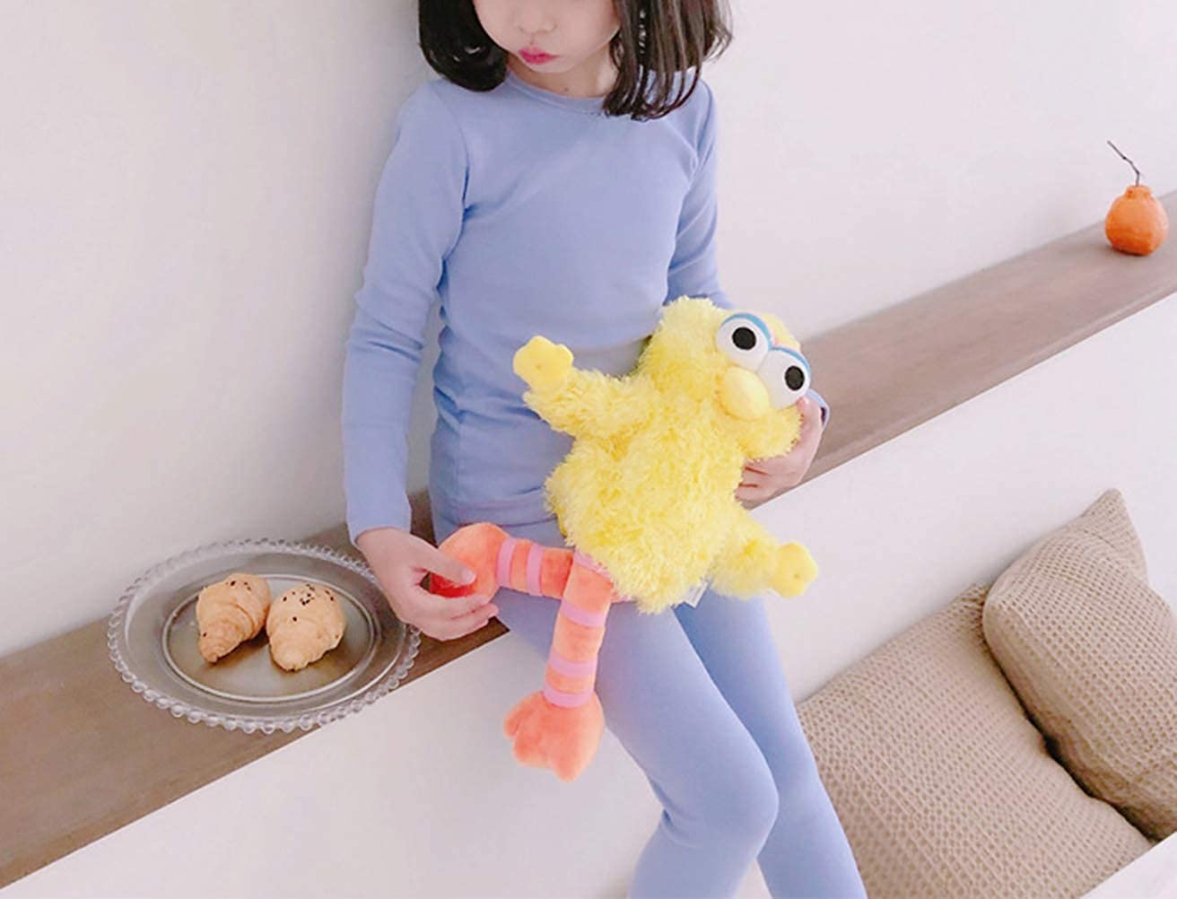 Kids Boy Girls Cotton Thermal Long Underwear Set Toddler Basic Layer Sleepwear Pajamas Set