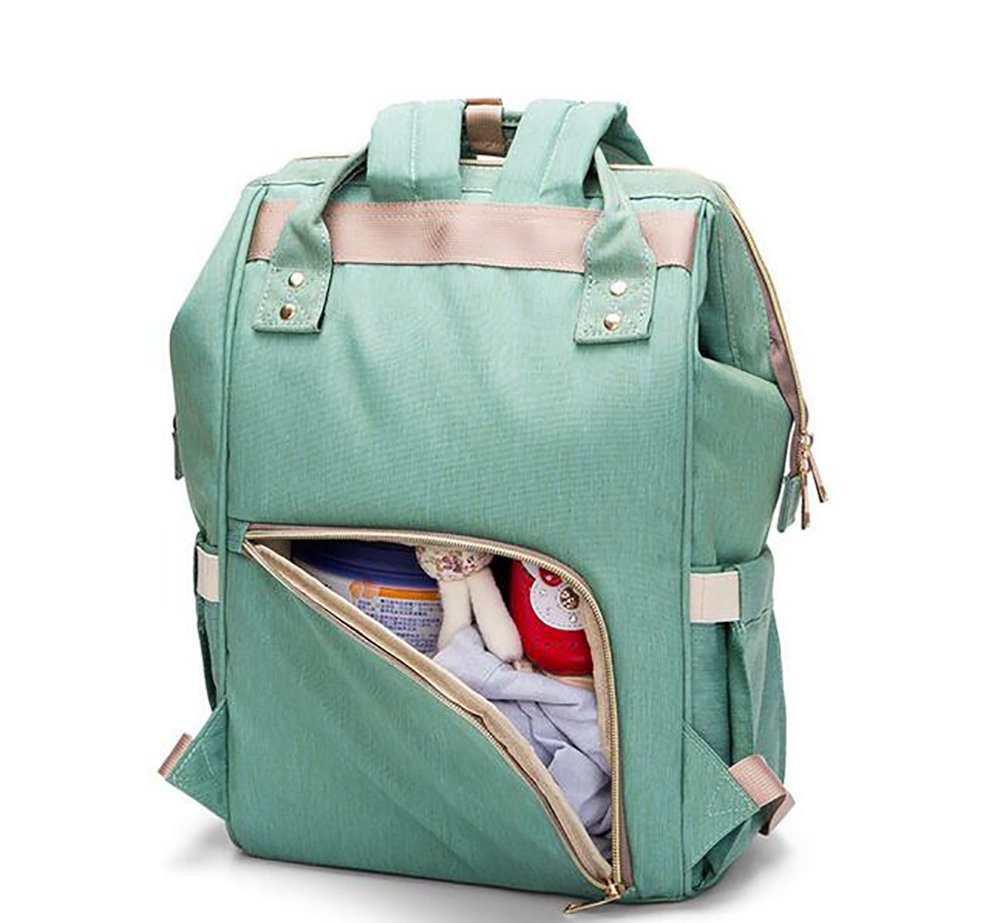 Diaper Bag Backpack, Waterproof Large Capacity Features Stylish Durable Travel Backpack by Yuanyang (Image #3)