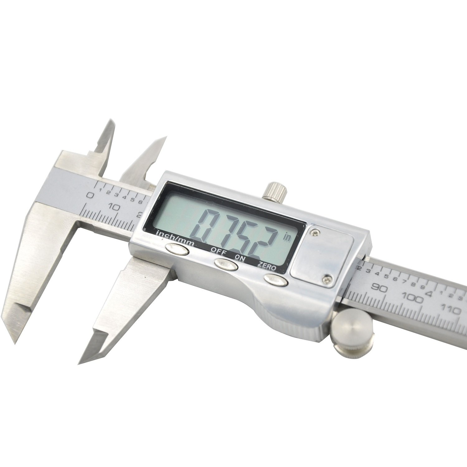 Electronic Digital Caliper - Bovini Caliper Measuring Tool in Inches & Millimeters Conversion 0-6 Inch/150 mm Stainless Steel Auto off Measuring Tool For Dimensions, Thickness, Depth, Diameter by Bovini (Image #2)