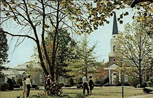 lambuth college jackson tennessee original vintage postcard at