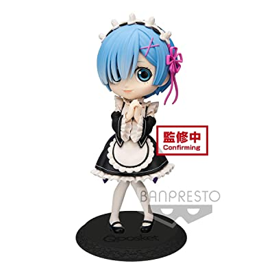 Banpresto Re: Zero -Starting Life in Another World- Q Posket-Rem-(Ver.A), BP19907: Toys & Games