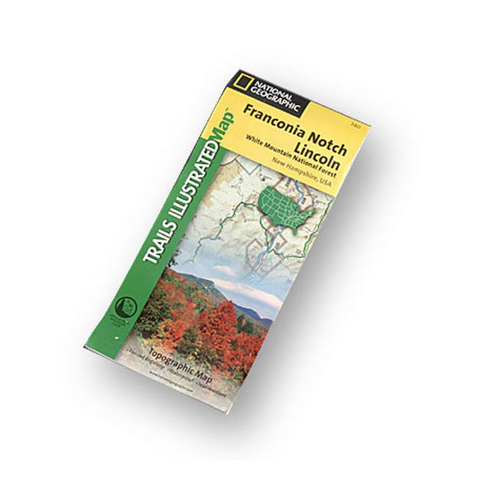Download Trails Illustrated Franconia Notch Lincoln Topographic: White Mountain National Forest New Hampshire, USA pdf epub