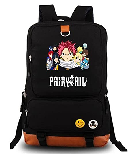 851786737fff Amazon.com: YOYOSHome Anime Fairy Tail Cosplay Bookbag College Bag ...