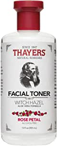 Thayers - Alcohol-Free Rose Petal Witch Hazel Toner with Aloe Vera - 12 oz - 355 ml (Package may vary)