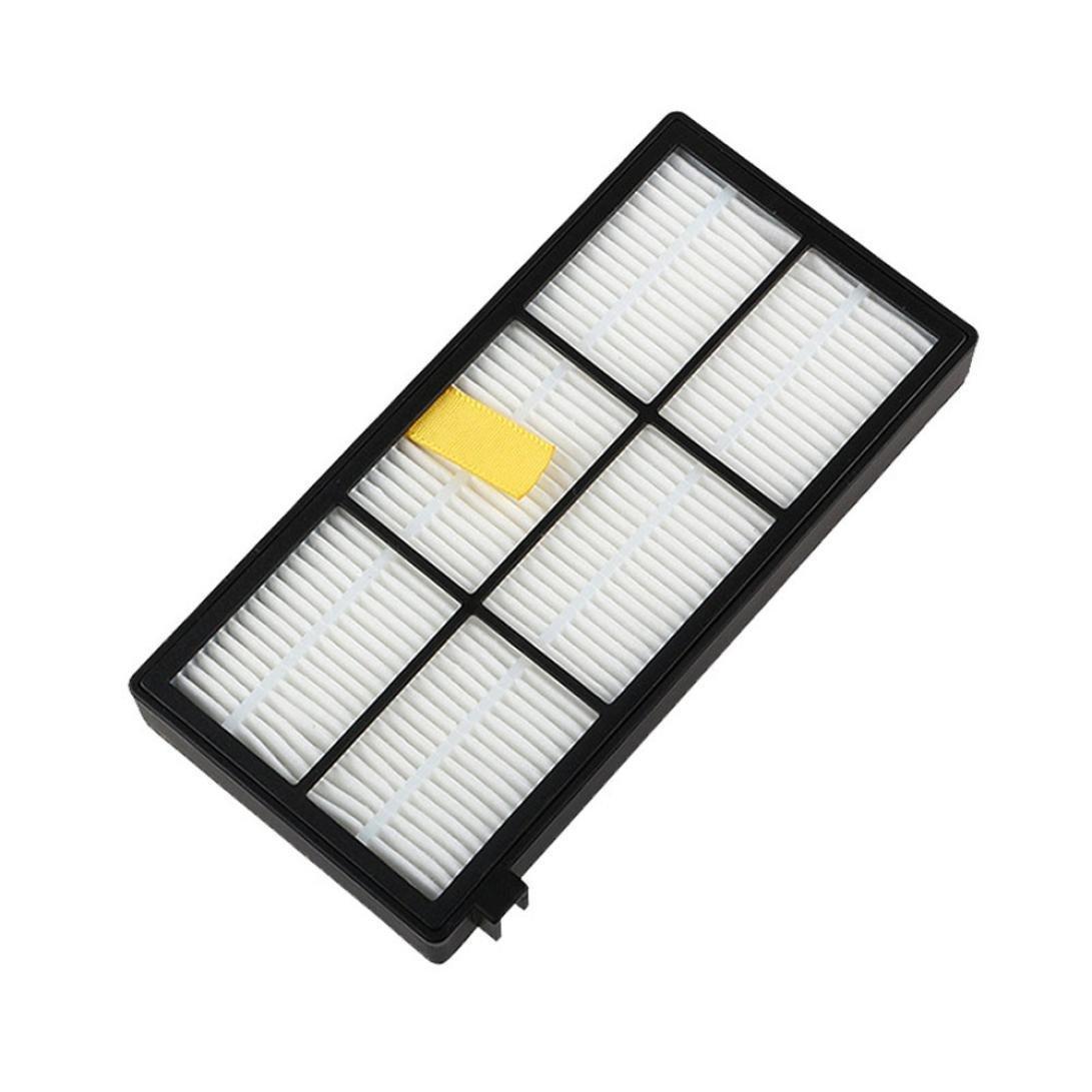 Malloom 2pc filtros para aspiradoras de Irobot Roomba serie 800 870 880