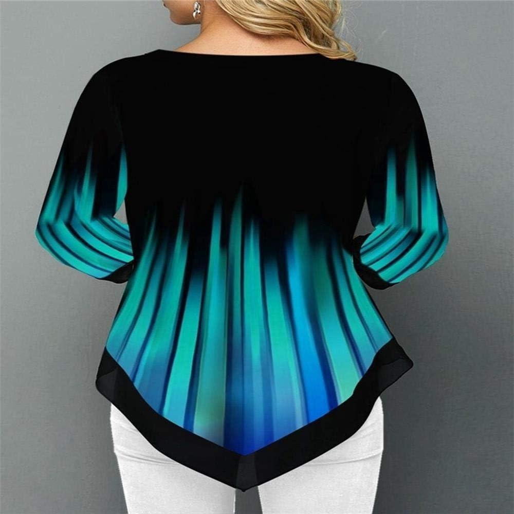 Fgg Camicia Patchwork in Chiffon a Maniche Lunghe Casual da Donna 2019 Color 1