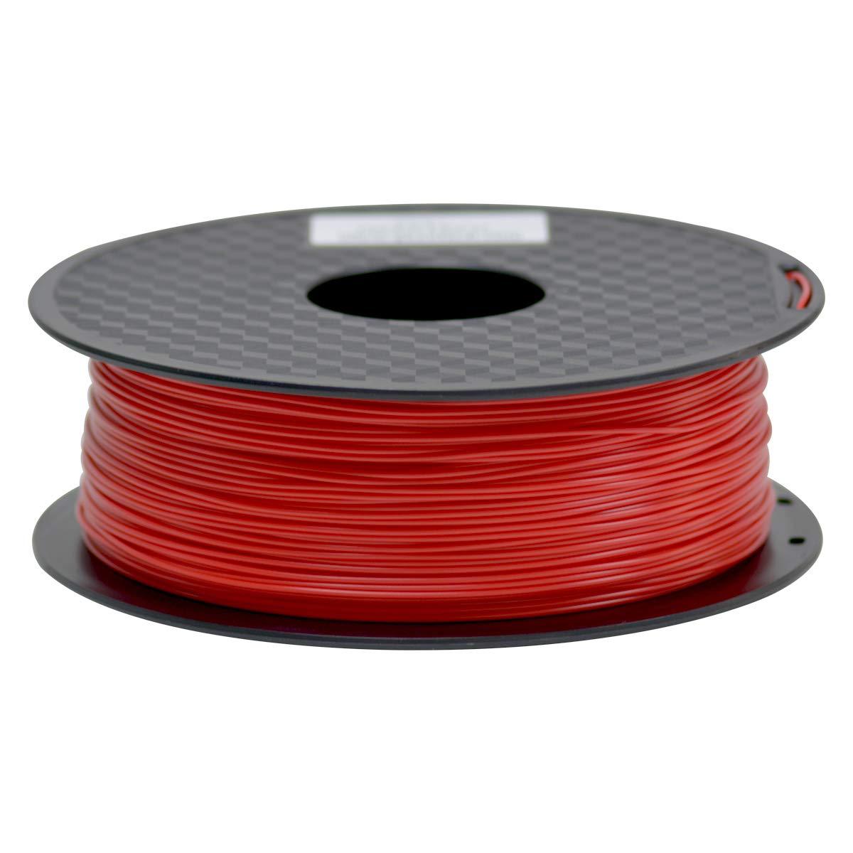 GEEETECH Filament PLA 1.75mm Schwarz 3D Drucker PLA Filament 1kg Spool