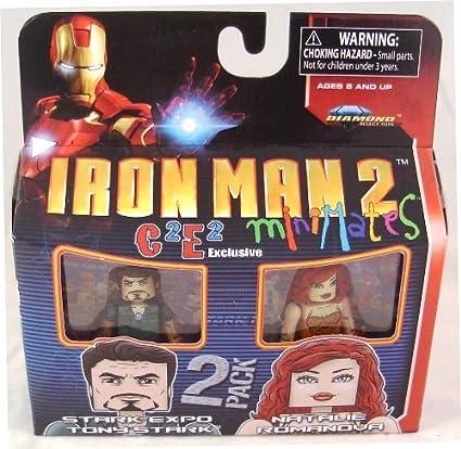 Marvel Minimates C2E2 Exclusive Iron Man 2 Movie Stark Expo Tony Stark