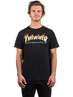 75cda22377c0 Thrasher Brown Neckface T-Shirt: Thrasher: Amazon.co.uk: Clothing