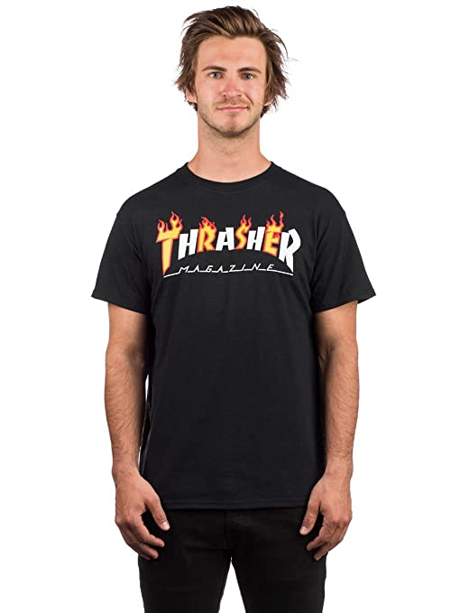 e52bd416313a Thrasher Flame Mag Short Sleeve Tee Shirt