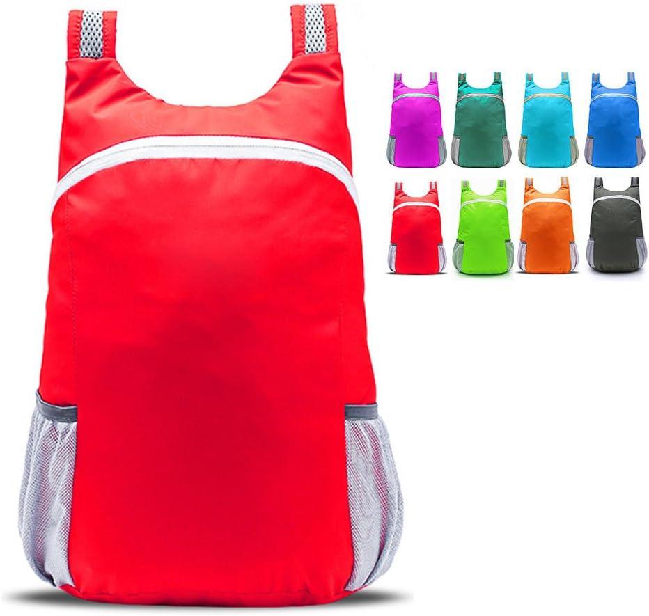 FidgetFidget Backpacks Foldable Daypacks Waterproof Ultralight Outdoor Travel Rucksacks 1 PC