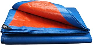 Nwn Blue Rain/Resistente all'Acqua Tarp Multiuso per Tenda da Campeggio in Campeggio Wind Tende Disponibili (Dimensioni : 4x4m)