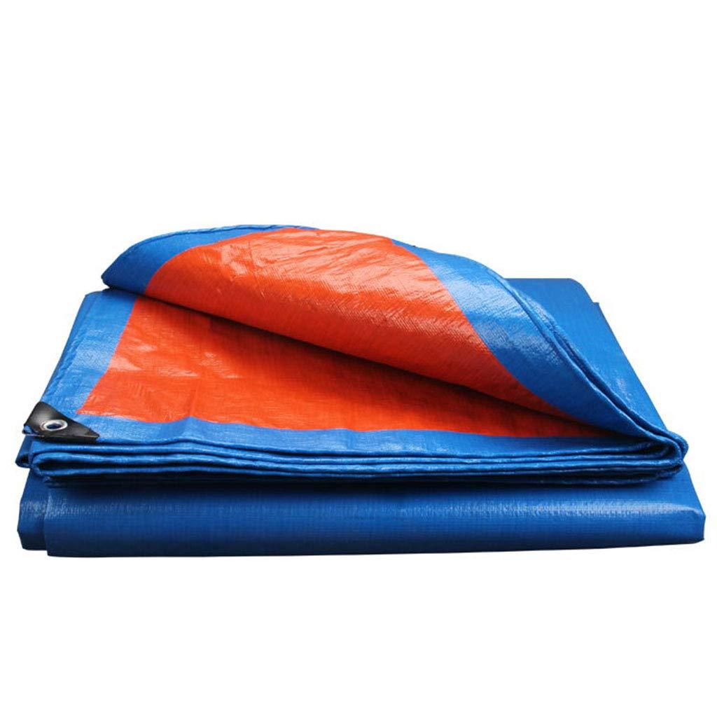 2x2m Nwn Pluie Bleue BÂche Durable imperméable à usages Multiples pour Le Rideau de Vent de Camping en Bateau de différentes Tailles Disponibles (Taille   3x4m)