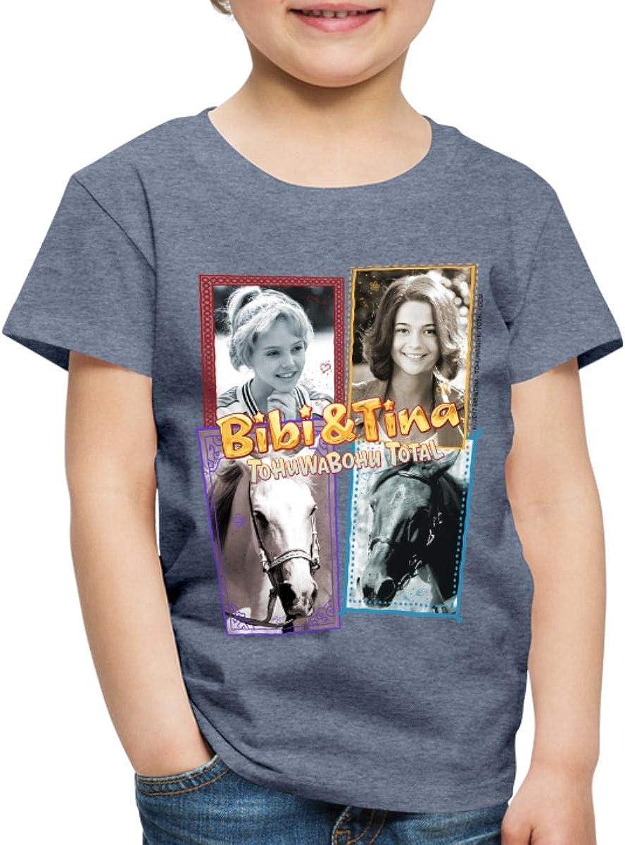 Bibi Und TinaTohuwabohu Total Sabrina Collage Teenager Premium T-Shirt von