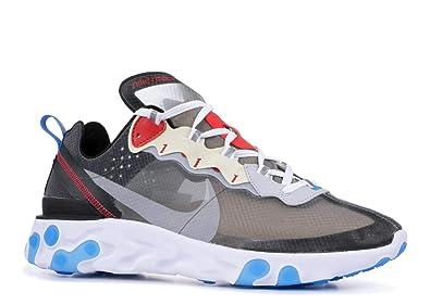 1d82e70905d9 Nike React Element 87 - AQ1090-003 Blue  Amazon.co.uk  Shoes   Bags