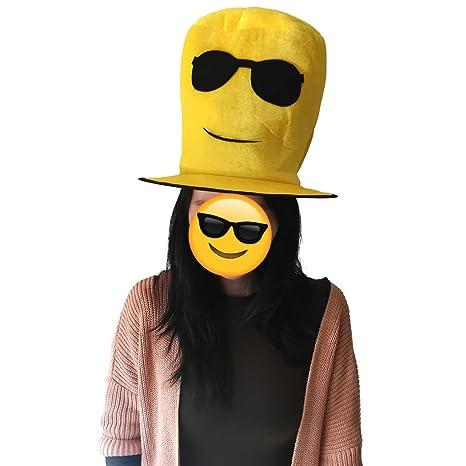 Cisne 2013, S.L. Gorro Sombrero de Fiesta Emoticono Gafas de ...