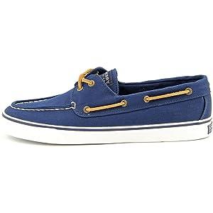 Sperry Top Sider Bahama Women US 7.5 Blue Boat Shoe