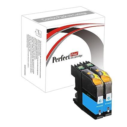 PerfectPrint - 2 Cian cartucho de tinta Compatible sustituir la ...